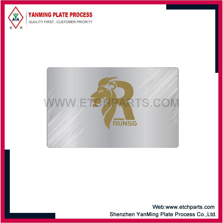 Brass Business card