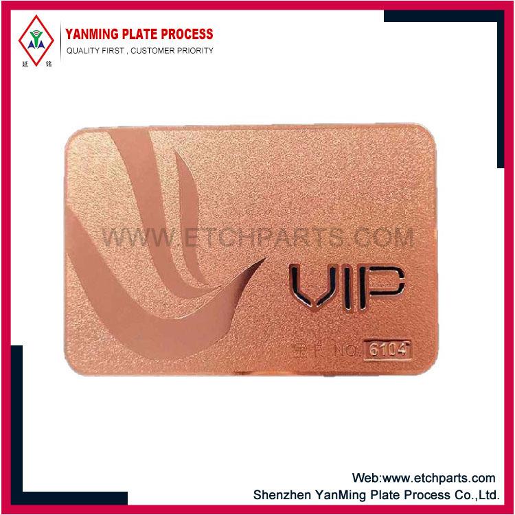Metal Membership Cards