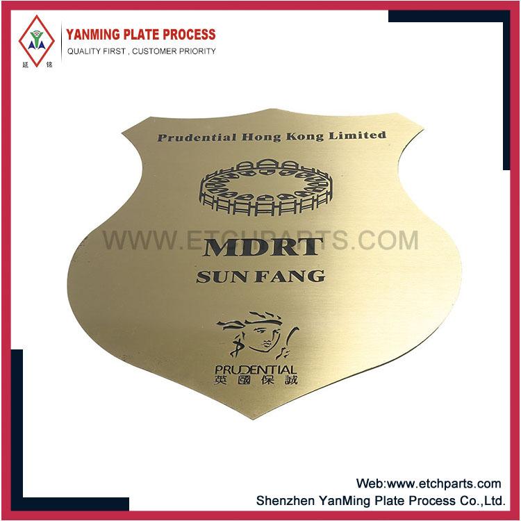 Nameplate Plaque