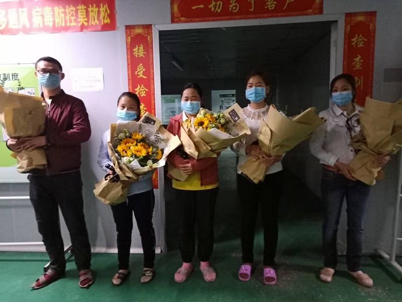 Hubei Colleagues Return to Work alt=